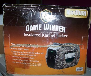 Game Winner Insulated Dog Kennel Jacket