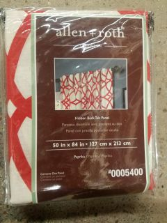 """Allen & Roth Paprika """"Oberlin"""" Curtain-One Panel"""