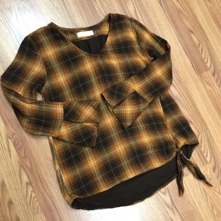 Time and Tru Double Cloth Flannel Plaid Pullover