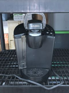 Keurig machine with a single couple filter