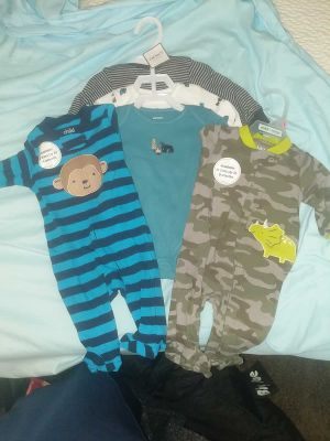3M Carter's onesies and sleepers