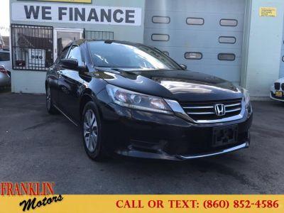 2013 Honda Accord LX (Black)
