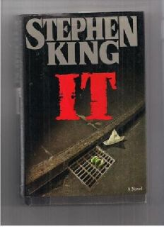 $5 IT by Stephen King-hardcover