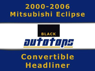 Find 2000-2006 Mitsubishi Eclipse Convertible top HEADLINER HEAD LINER motorcycle in Shamokin, Pennsylvania, US, for US $167.00