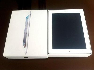 64g black and white ipad for sale .$350
