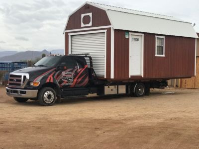 Storage shed and Container Moving