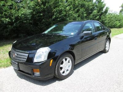 2004 Cadillac CTS Base (Black Raven)