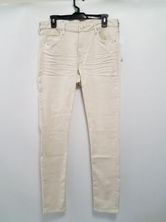 Women's Natural Off White NWT H&M Skinny Jeans size 34/34