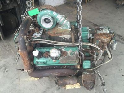 Buy Detroit Diesel 6v92 Silver Running Tested Engine SHIPPING AVAILABLE!!! motorcycle in Scranton, Pennsylvania, United States, for US $1,700.00