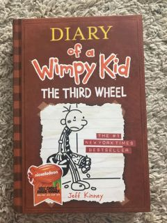 Hardcover Diary of a Wimpy Kid: The Third Wheel