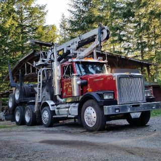 🔴LOGGING COMPANY Eatonville Washington LOG HAULING, SELLING TIMBER; 1-800 LOG ALOT