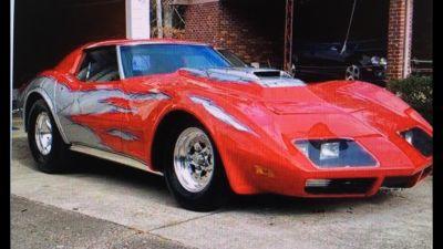 1973 Vette Pro Street/Bracket Car Including 24 Foot Trailer