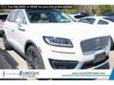new 2019 Lincoln Nautilus for sale.