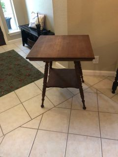 Project antique side table