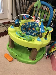 Exersaucer-Life in the Amazon