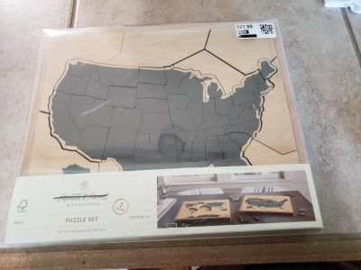 Beautiful Hearth and Hand wood puzzle