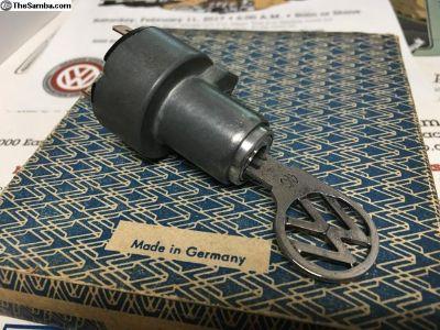 OG German VW 61-66 (SU) Bug ignition switch w/key