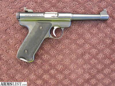For Sale: Rare 1951 Ruger MKI Target