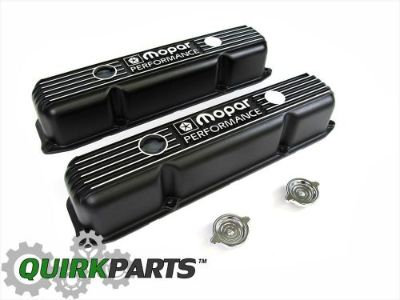 Purchase MOPAR PERFORMANCE 383/400/440 Big Block BLACK ALUMINUM VALVE COVERS OEM P5007614 motorcycle in Braintree, Massachusetts, United States, for US $123.76