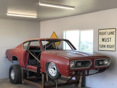 1967 Barracuda Fastback (LOWERED PRICE)