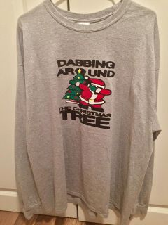 Long sleeve Christmas t-shirt, only worn once