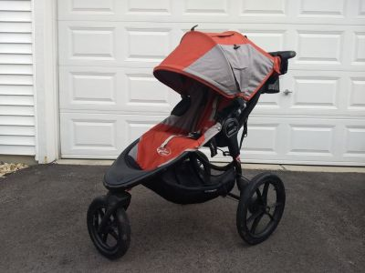 Baby Jogger Summit X3 Running Stroller - lots of extras