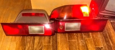 97 to 01 Camry rear tail lights far right rear sold.