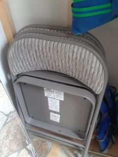 Folding chairs used once