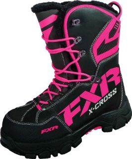 Purchase FXR-Snow X Cross Womens Insulated Boots, Black/Fuchsia/Pink, US 8, ~ 16508.90108 motorcycle in Manitowoc, Wisconsin, United States, for US $169.99