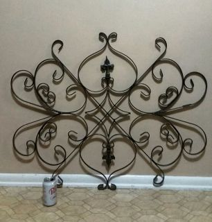 HEAVY/WROUGHT IRON/ WALL DECOR......EXCELLENT CONDITION