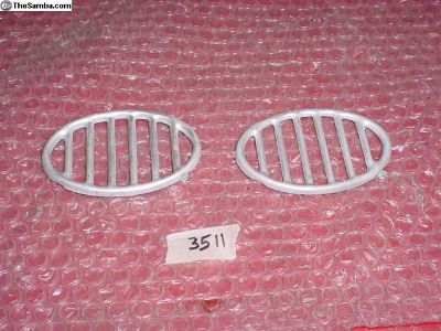 pair beetle front aluminum Grills