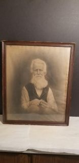 Antique Photo - Patriarch - Some Damage **See Photos** - Best Offer