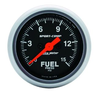 Sell Auto Meter 3361 Sport-Comp; Electric Fuel Pressure Gauge motorcycle in Rigby, Idaho, United States, for US $239.48