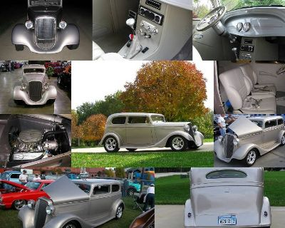 1934 Chevrolet Sedan Vicky (Early Downs Body) Very Rare Car 6,640 Miles