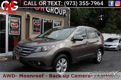 2012 Honda CR-V EX-L (White Diamond Pearl)