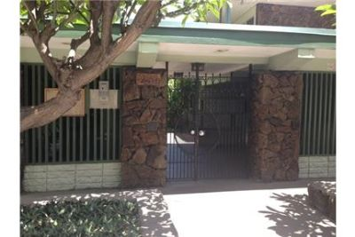 Oahu Gardens studio with full kitchen! Secured building. entry