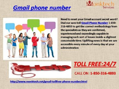 Weed out Problems with Gmail Phone Number like Never Before 1-850-316-4893