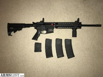For Sale: M&P 15T AR-15 Free Floating Rail
