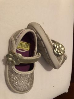 Gold Stride Rite shoes