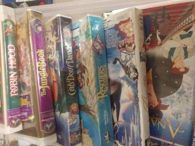 CLASSIC VHS TITLES