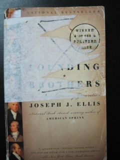 Textbook, Founding Brothers: The Revolutionary Generation, by Ellis.