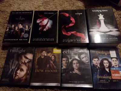 Complete Twilight DVD and book set