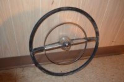 50s Lincoln steering wheel