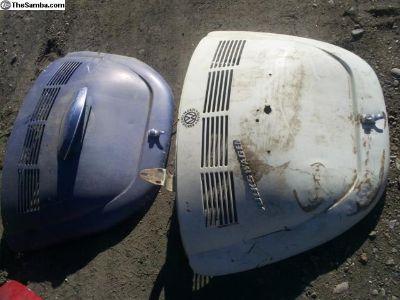 1969-71 Beetle engine deck lid