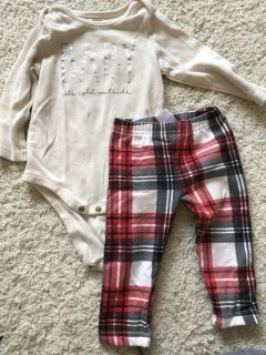Christmas outfit 6-9 Months