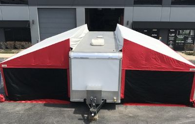 16 United 30' with Holliday Canopies