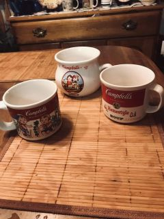 Vintage, Collectible Campbell s Soup Mugs