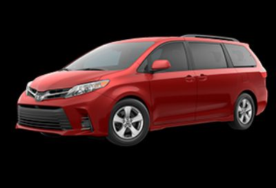2019 Toyota Sienna LE (Salsa Red Pearl)