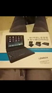 Case and Bluetooth keyboard for ipad 2017 and ipad air
