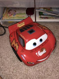 Disney cars CD player and radio ((MOVING SALE))